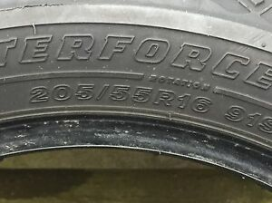 Winter tires 205/55 R16, like new