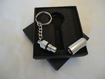 Zigarrenbohrer / Zigarrenschneider als Schlüsselanhänger mit Schlüsselring Edel