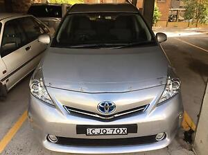 Toyota 2012 Prius v hybrid 71,000km Meadowbank Ryde Area Preview