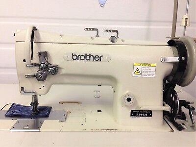 Brother Lt2-b838 2-needle 14 Walking Foot Reverse 110v Ndustrial Sewing Machine