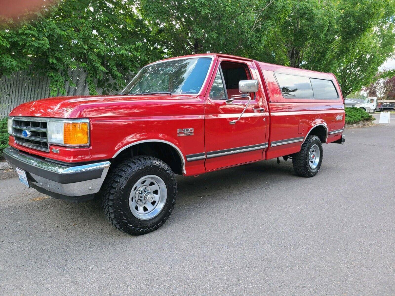 1991 Ford F-150 Standard Cab 8FT Long Bed V8 5.4L Engine
