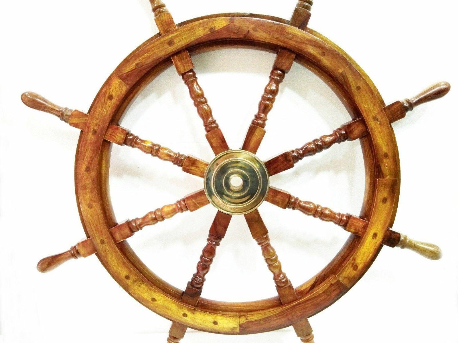 VINTAGE Ship Wheel 36