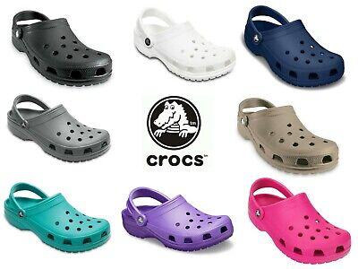 Crocs Leichte Sandalen (Crocs Klassisch Clog Sandalen Unisex Leicht Sommer Gepolstert Slip On Schuhe)