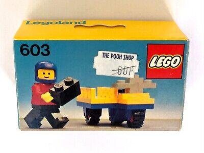LEGO Legoland 603 Motorbike NEW Sealed Vintage RARE Classic Town
