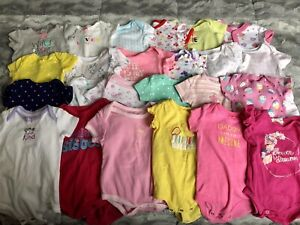 Large lot of clothes (0-6 month)