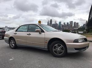 2000 Mitsubishi Magna Solara V6 Kirribilli North Sydney Area Preview