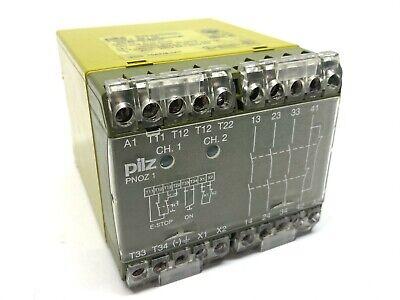 Pilz Pnoz 1 3s 10 475630 Safety Relay