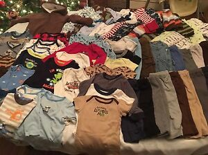 HUGE clothing lot 6-9 months approx 120 items