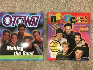 O-Town and 'nsync Books
