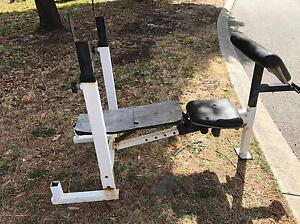 Weight bench Kelmscott Armadale Area Preview