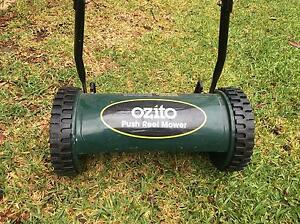 Ozito push reel Mower Mount Colah Hornsby Area Preview