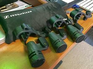 3 X E604 Sennheiser  mics. Alphington Darebin Area Preview