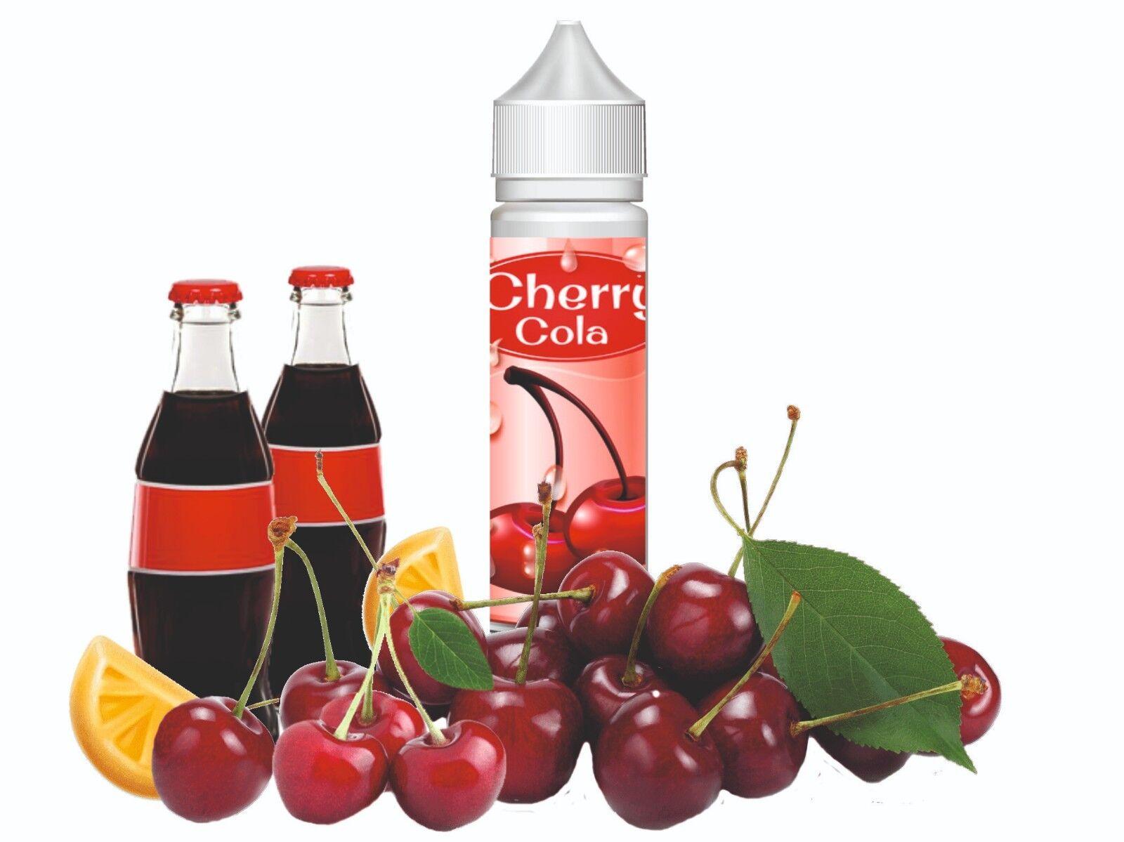 E-Liquid Cherry Cola Set eliquid Nikotin 0-20mg/ml Shortfill 60/120/240ml