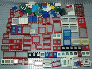 Lego lot vrac bulk de fenetres window classic et moderne for Fenetre lego