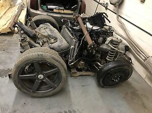 Complete drive train out of 2005 Cadillac CTS 3.6 L