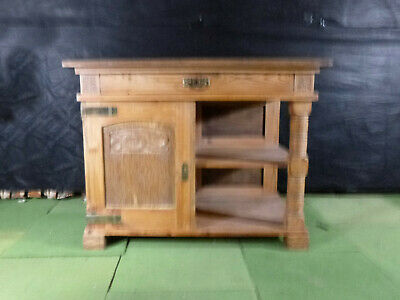 EB489 Oak Kitchen Unit Storage Vintage Danish Retro Cupboard Shelves Dragon