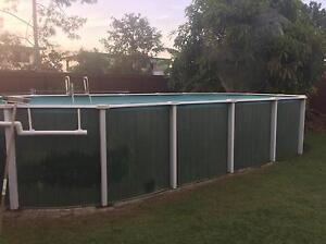 Above ground pool for dismantling approx 3x8m Kallangur Pine Rivers Area Preview
