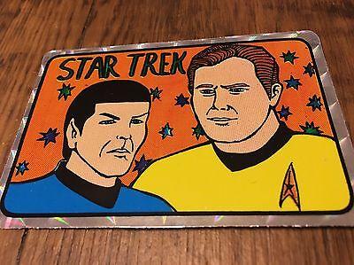 Star Trek Vintage Retro Prism Sticker Rare 1980's Rare
