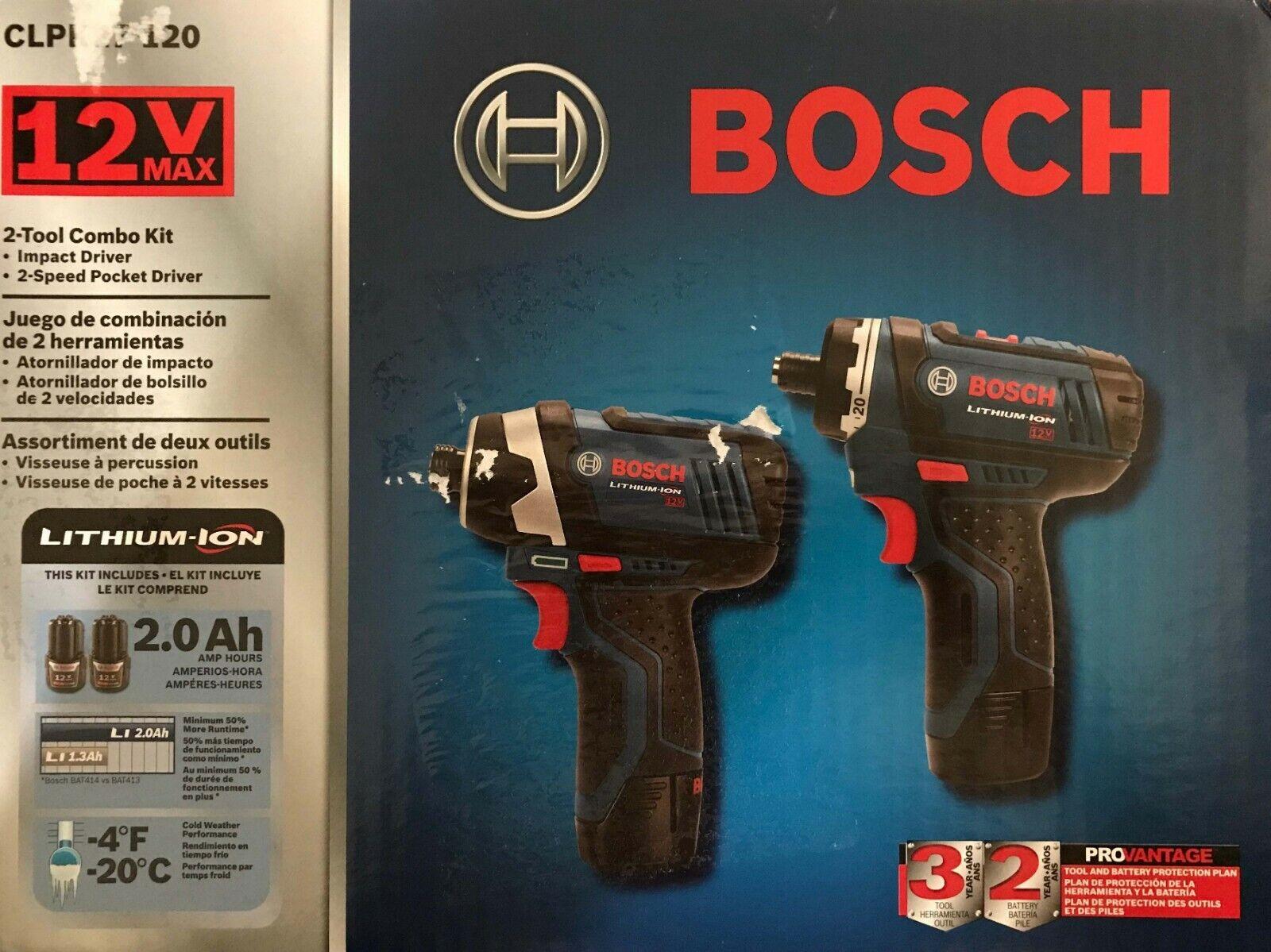 Bosch CLPK27-120 12V Max Cordless Lithium-Ion Drill Driver a
