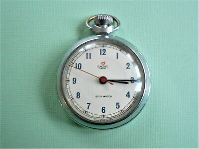 Vintage Smiths Empire Pocket Watch Centre Second Hand + Stop Function