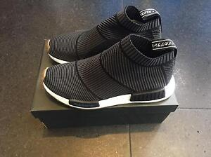 Adidas nmd city sock PK black gum us8 Felixstow Norwood Area Preview