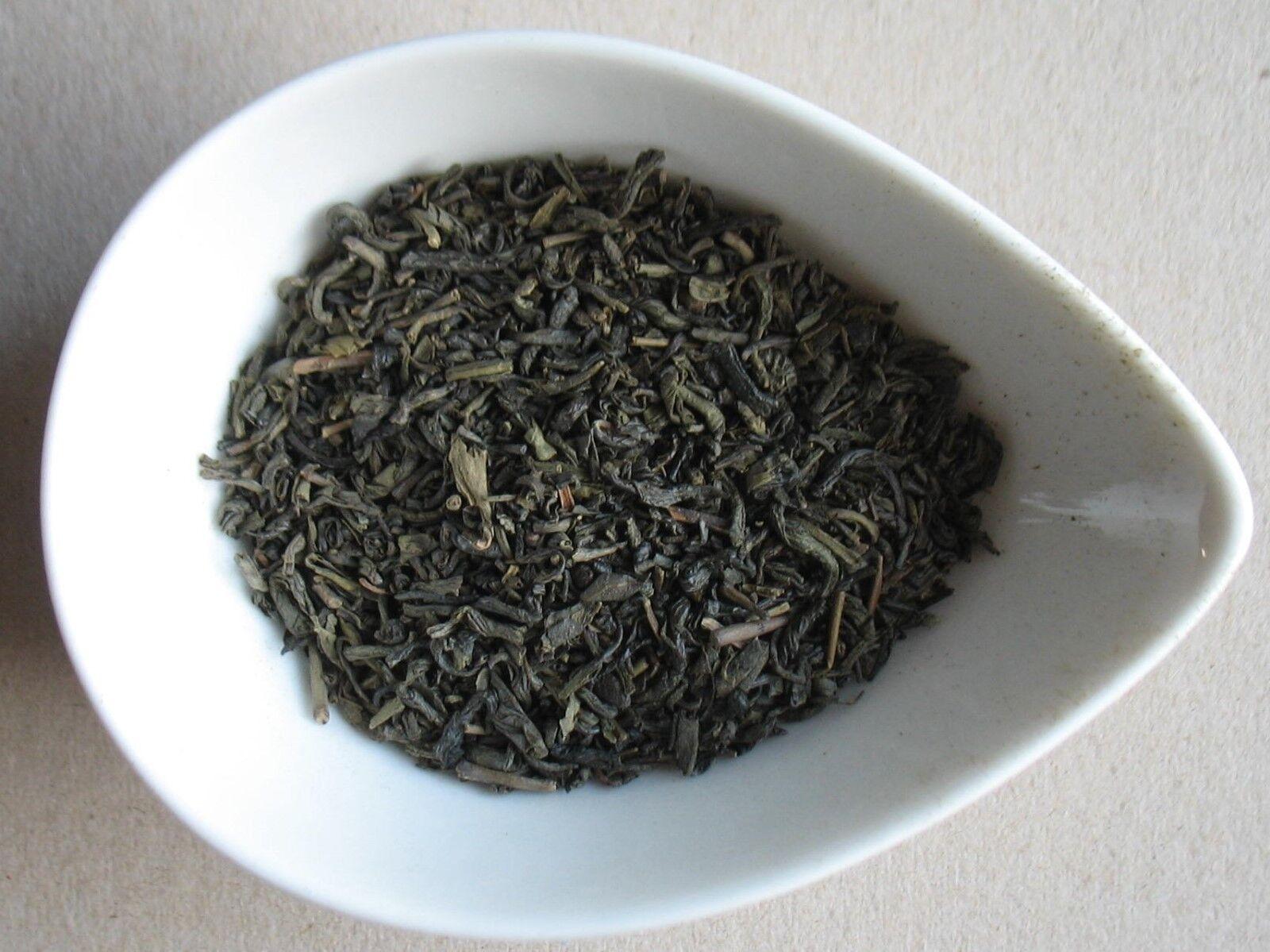 Tè verde Chunmee biologico (in barattolo di alluminio da 50g)