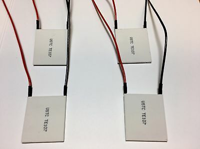 Thermoelectric Modules - High Power Peltier Coolers - Te Kryotherm Lot Of 4