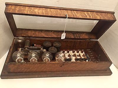 Early 1900's Antique Electrical Automatic Transformer Co Kansas City Steampunk