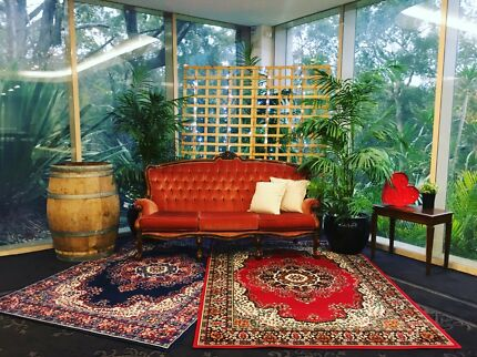 Vintage Lounge and Persian Rugs for Hire
