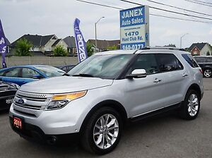 2011 Ford Explorer Limited 6 PASS   SUNROOF   BLACK LEATHER I...