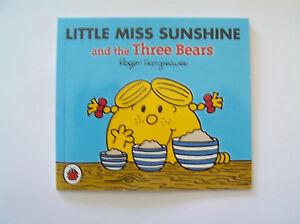 Little Miss Sunshine and the Three Bears BRAND NEW Mr Men & Little Miss book
