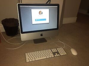 20 inch iMac with upgraded memory and HD