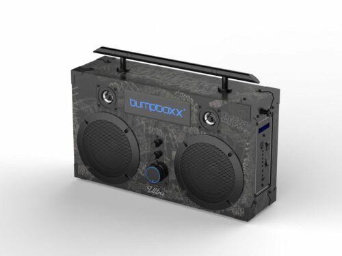 BUMPBOXX ULTRA BLUETOOTH BOOMBOX -black Graffiti
