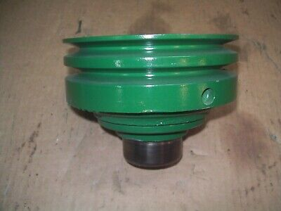 Oliver 1650165517501755180018551950t1955 Farm Tractor Double Crank Pulley