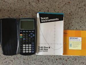TI-83 plus silver edition calculator - Texas Instruments
