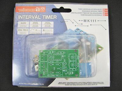 Interval Timer Wrelay - Diy Soldering Mini Kit Project - Velleman Mk111