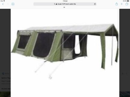 4 Person Tent  sc 1 st  Gumtree & BOAB CABIN TENT RIP STOP CANVAS 12 PERSON | Miscellaneous Goods ...