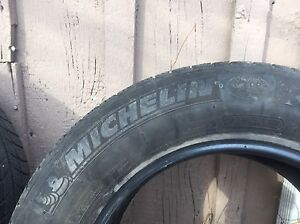 4 Winter Tires - Michelin X Ice - 205/65/15 Peterborough Peterborough Area image 2