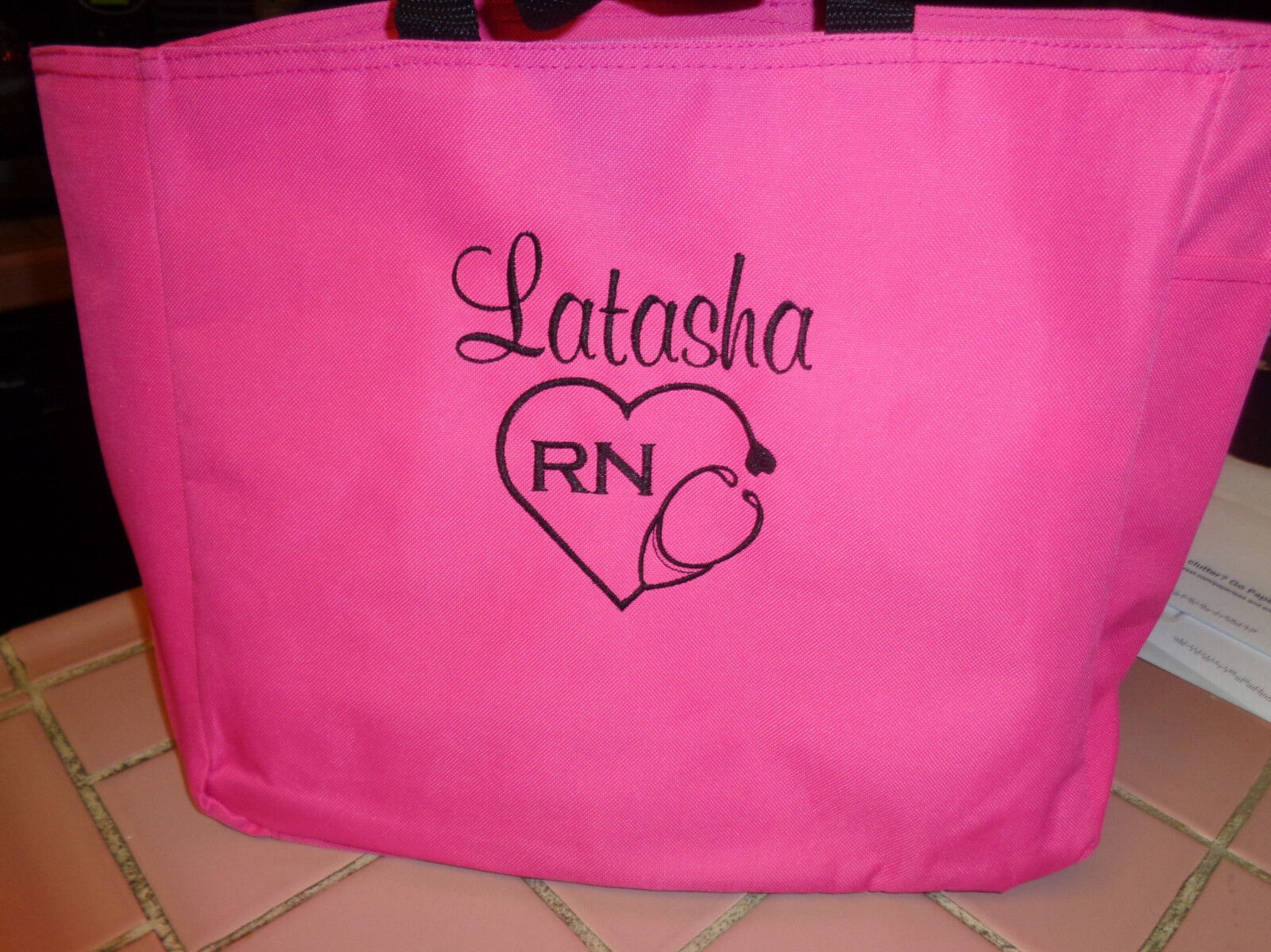2 TOTE Bags NURSE DR RN LPN MA CNA  HOSPITAL MEDICAL OFFICE