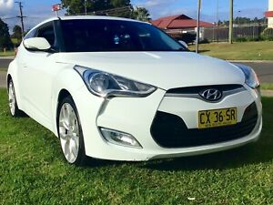 2013 Hyundai Veloster Sporty 1.6 Lt 6 speed Manual Coupe warranty Leumeah Campbelltown Area Preview