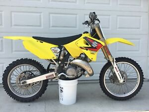 2004 Suzuki RM125 w/Extras MOVING, MUST SELL