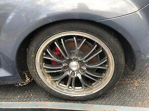 Mazda rx8 rims and tyres brigstone 4x new Shanes Park Blacktown Area Preview