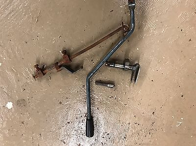 Kubota L175 L185 Hydraulic Control Arm And Fork With Linkage Assembly