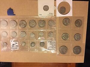 24x Australian silver coins Riverview Ipswich City Preview