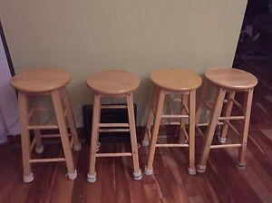 Four stools