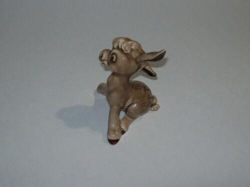 vintage ceramic DONKEY Figurine travel souvenir, Trout Haven South Dakota