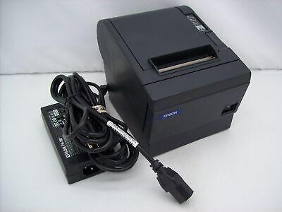 Epson Micros Tm-t88iii M129c Thermal Kitchen Pos Idn Printer W Power Supply