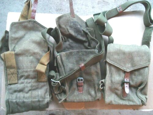 Soviet Original Magazine Pouch 5 Cell for 5 mags Canvas with shoulder strap