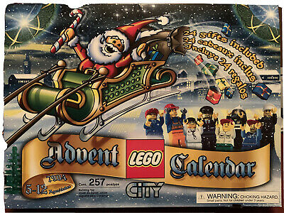 LEGO City Advent Calendar #7904 - New/Sealed from 2006! 257pc, Free US shipping!