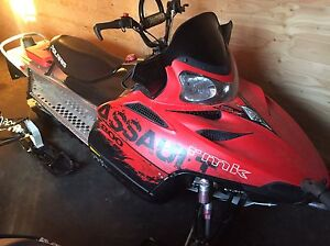 2009 Polaris RMK Assault 800 Moose Jaw Regina Area image 2